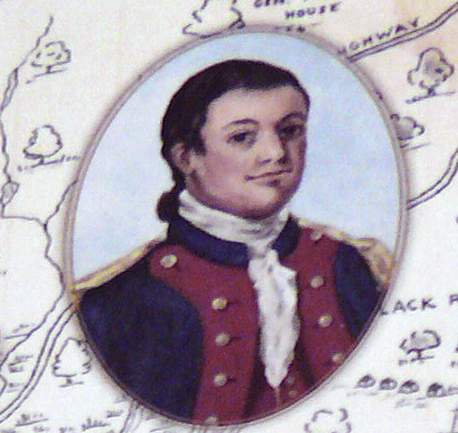 Capt. Samuel Smedley, Fairfield native and Revolutionary War hero. Photo: Contributed Photo / Fairfield Citizen