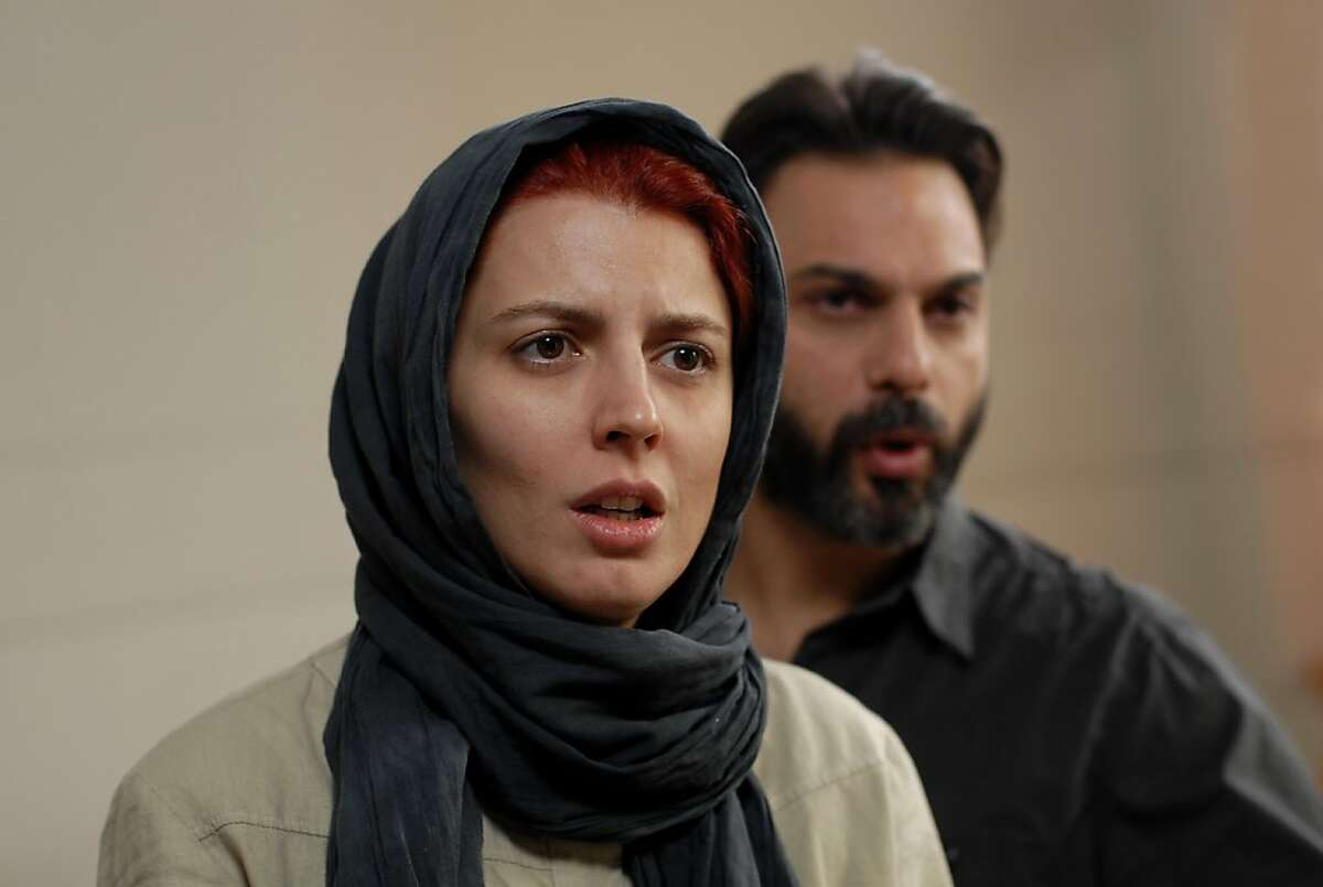 """Left to Right: Leila Hatami as Simin and Peyman Moadi as Nader in """"A Separation"""""""