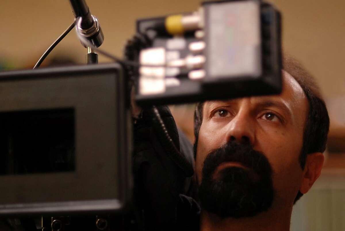 "Asghar Farhadi (director) on the set of ""A Separation"""