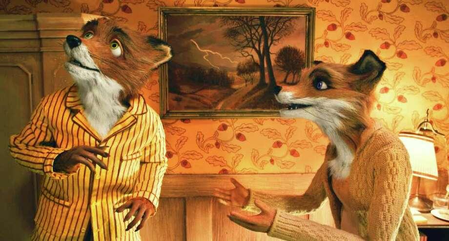 FANTASTIC MR. FOX -- L-R: Mr. Fox (George Clooney) and Mrs. Fox (Meryl Streep) Photo Credit: Courtesy of Fox Searchlight Pictures Photo: Courtesy 20th Century Fox / handout