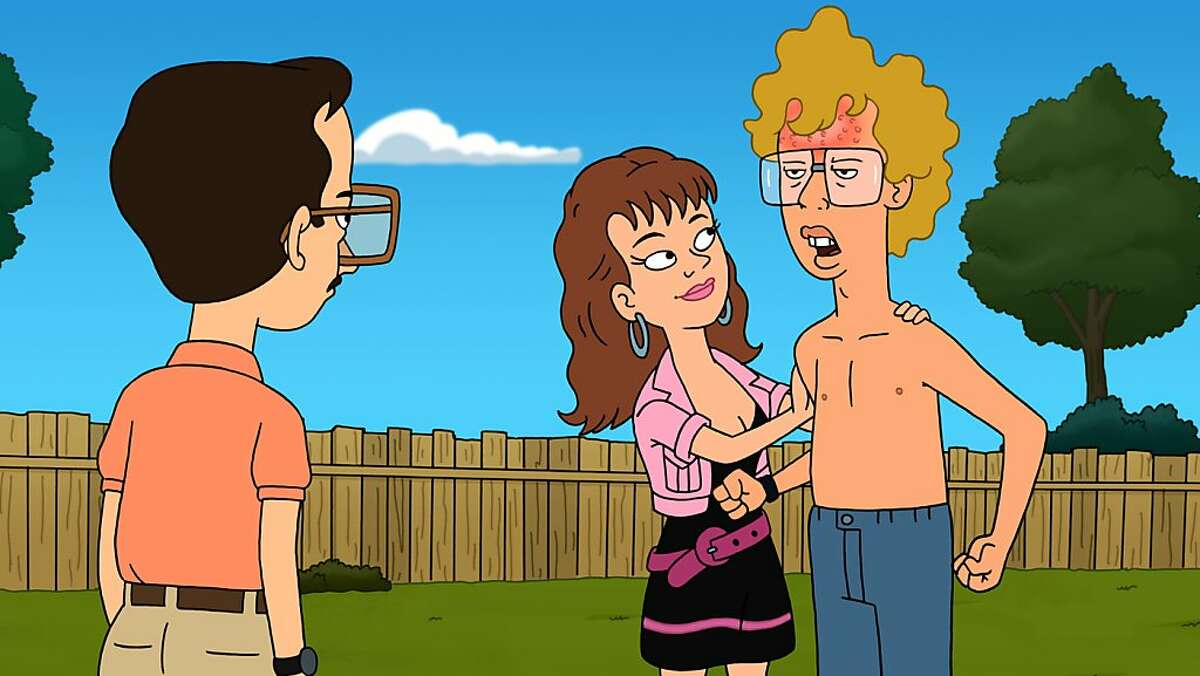 NAPOLEON DYNAMITE: Napoleon steals Kip's new girlfriend Misty (guest voice Amy Poehler) in the series premiere