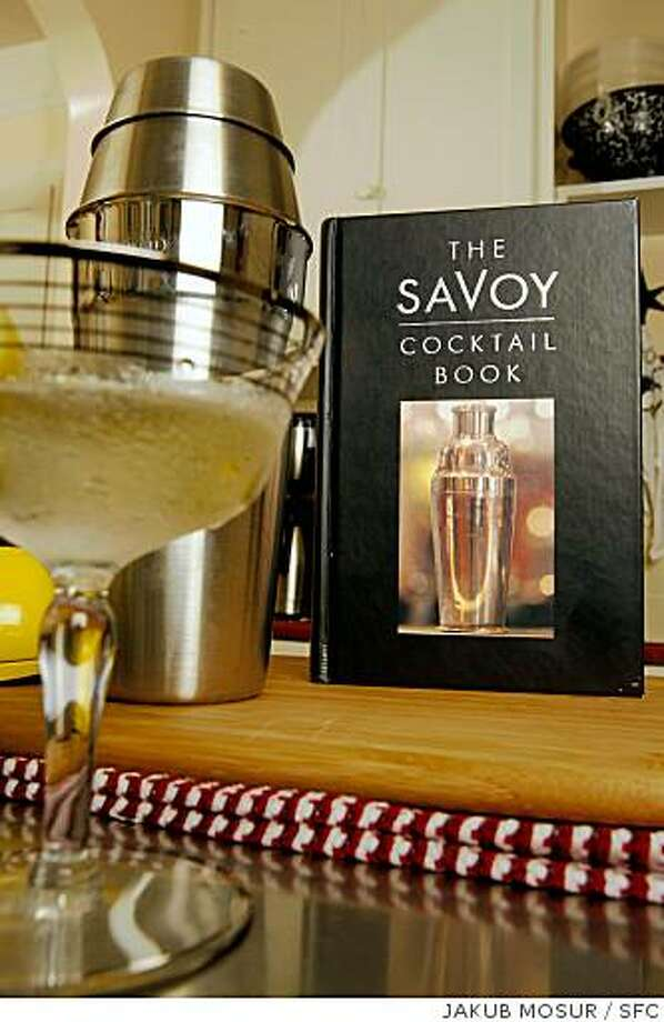 The Savoy Cocktail Book. Photo: JAKUB MOSUR, SFC