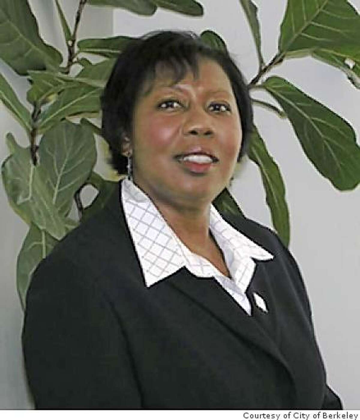 Photo of Berkeley Public Works director, Claudette Ford