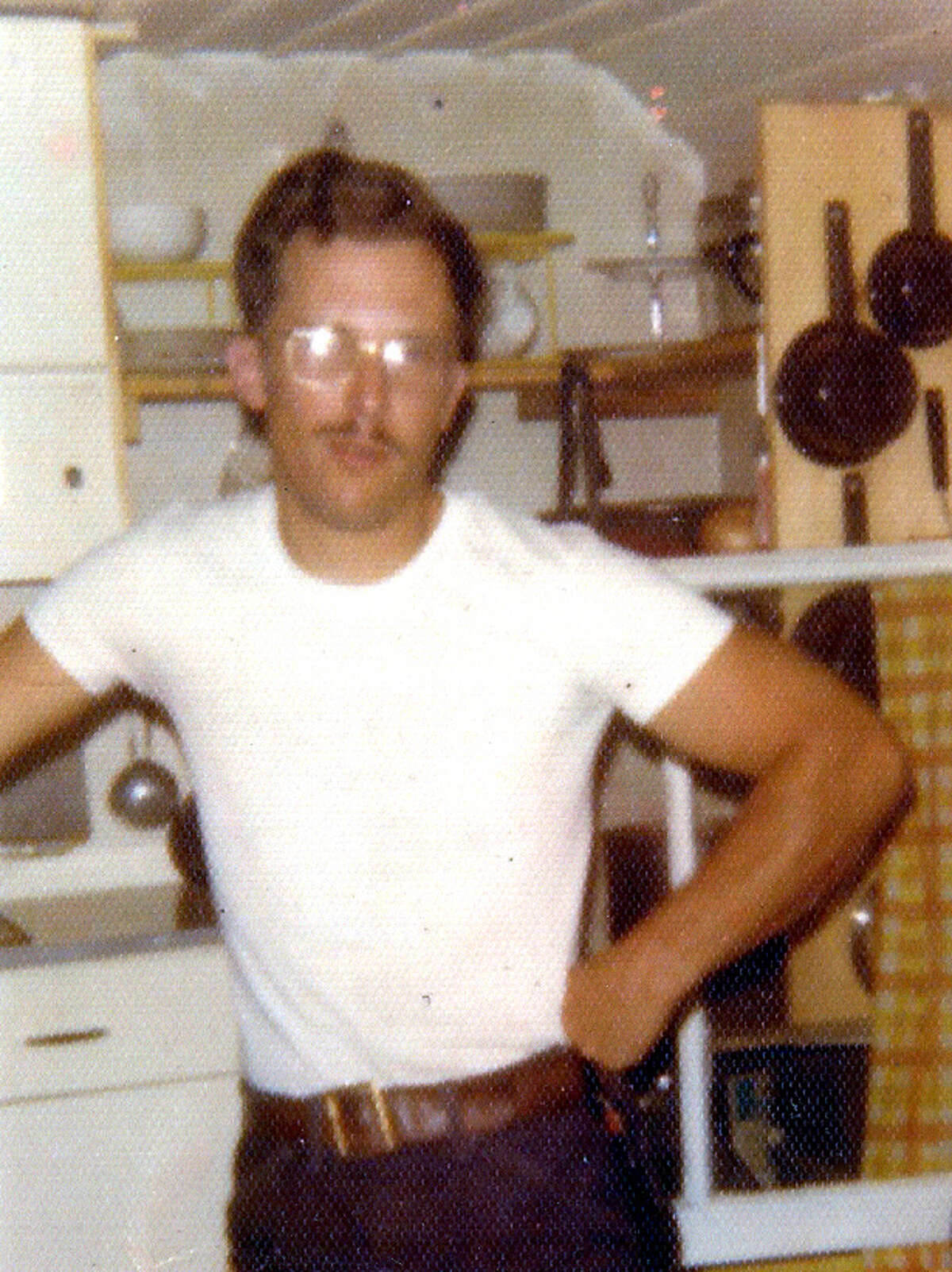 Eugene Hubert, pictured here at a cabin in southern Essex County where he is accused of sexually abusing young boys. Hubert was a custodian at St. Teresa of Avila school in Albany. Three men who were classmates at the school have recounted sexual incidents with Hubert in the 1970s. Two of the men said Hubert raped them. A third, who was raped by a priest in a separate case, said he ran when Hubert exposed himself in a school locker room. Hubert, of Warrensburg, died in 1997.