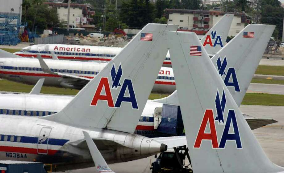 American Airlines, once the world's largest carrier, has landed in third place as others have combined. Photo: Tim Chapman / Miami Herald