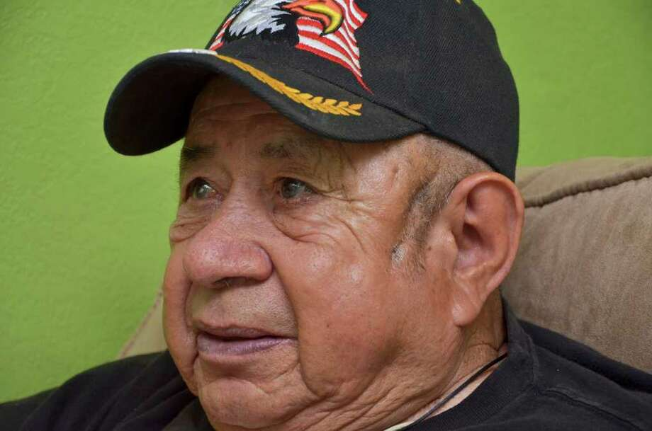 A large portion of benefits for 90-year-old veteran Jesus Garcia, administered by a fiduciary, is unaccounted for. Photo: RICARDO SANTOS / LAREDO MORNING TIMES