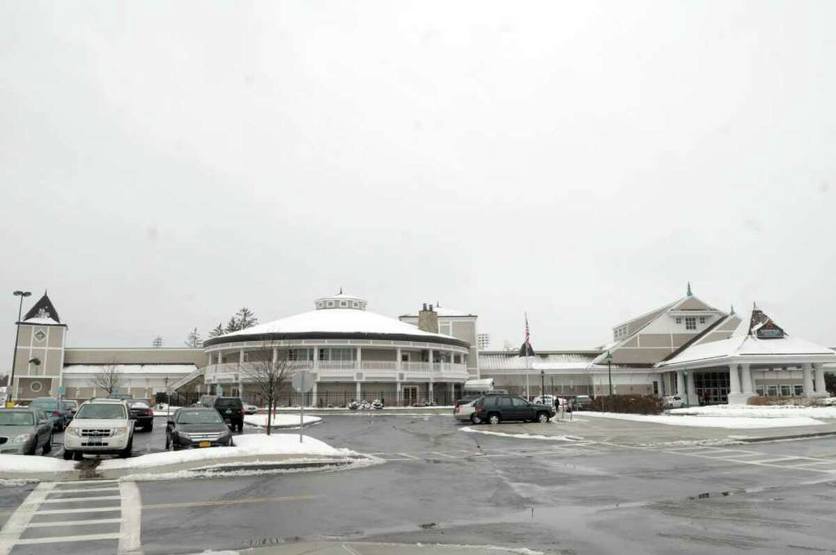 A view of the Saratoga Casino and Raceway on Thursday, Jan. 12, 2012 in Saratoga Springs, NY. Plans of expansion are in progress at Saratoga Casino and Raceway, pending the legalization of Governor Cuomo?s proposal to enhance gaming in New York State. The plan for expansion includes an additional 15,000 square feet of gaming space, and calls for an addition of a hotel, event center and dining options as well. The casino is also considering the inclusion of a parking garage. In entirety, it is estimated to be a $40 million expansion project. (Paul Buckowski / Times Union)