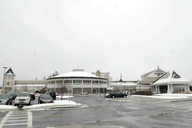 A view of the Saratoga Casino and Raceway on Thursday, Jan. 12, 2012 in Saratoga Springs, NY.  Plans of expansion are in progress at Saratoga Casino and Raceway, pending the legalization of Governor Cuomo?s proposal to enhance gaming in New York State.  The plan for expansion includes an additional 15,000 square feet of gaming space, and calls for an  addition of a hotel, event center and dining options as well. The casino is also considering the inclusion of a parking garage. In entirety, it is estimated to be a $40 million expansion project.  (Paul Buckowski / Times Union) Photo: Paul Buckowski