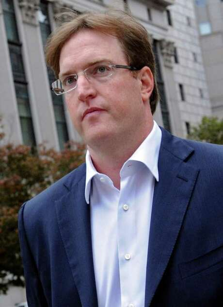 "Drew ""Bo"" Brownstein, the founder and chief executive officer of Denver-based Big 5 Asset Management, exits federal court in New York, U.S., on Friday, Oct. 21, 2011. Brownstein, 35, pleaded guilty to trading on inside information about Apache Corp.'s $2.7 billion acquisition of Mariner Energy Inc. in April 2010. Photographer: Louis Lanzano/Bloomberg *** Local Caption *** Bo Brownstein Photo: Louis Lanzano / © 2011 Bloomberg Finance LP"