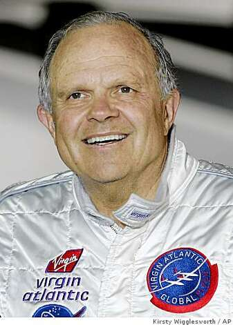 FILE ** American adventurer Steve Fossett arrives at Kent International Airport, Manston, Kent, England. in this Feb. 11, 2006, photo. Searchers ramped up the quest for some sign of the missing adventurer on Saturday Sept. 29, 2007, as ground crews moved into the rugged back country of western Nevada looking for Fossett's plane 27 days after it was last seen. (AP Photo/Kirsty Wigglesworth, file) Photo: Kirsty Wigglesworth, AP