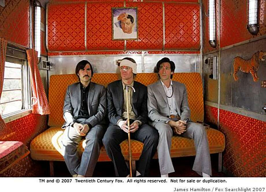 "Jason Schwartzman, Owen Wilson and Adrien Brody in ""The Darjeeling LImited."" Photo: James Hamilton, Fox Searchlight 2007"