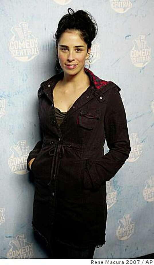 Comedian Sarah Silverman Photo: Rene Macura 2007, AP
