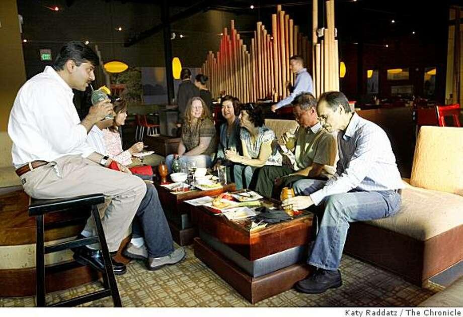 Butterfly restaurant, Pier33 near Bay, boasts great views and a lively bar scene. Photo: Katy Raddatz, The Chronicle