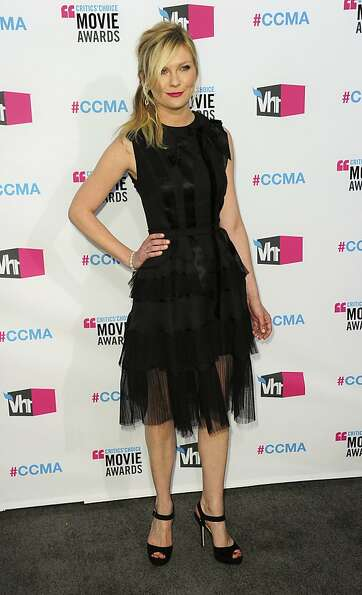 Kirsten Dunst arrives for the 17th annual Critics' Choice Movie Awards at the Hollywood Palladium in