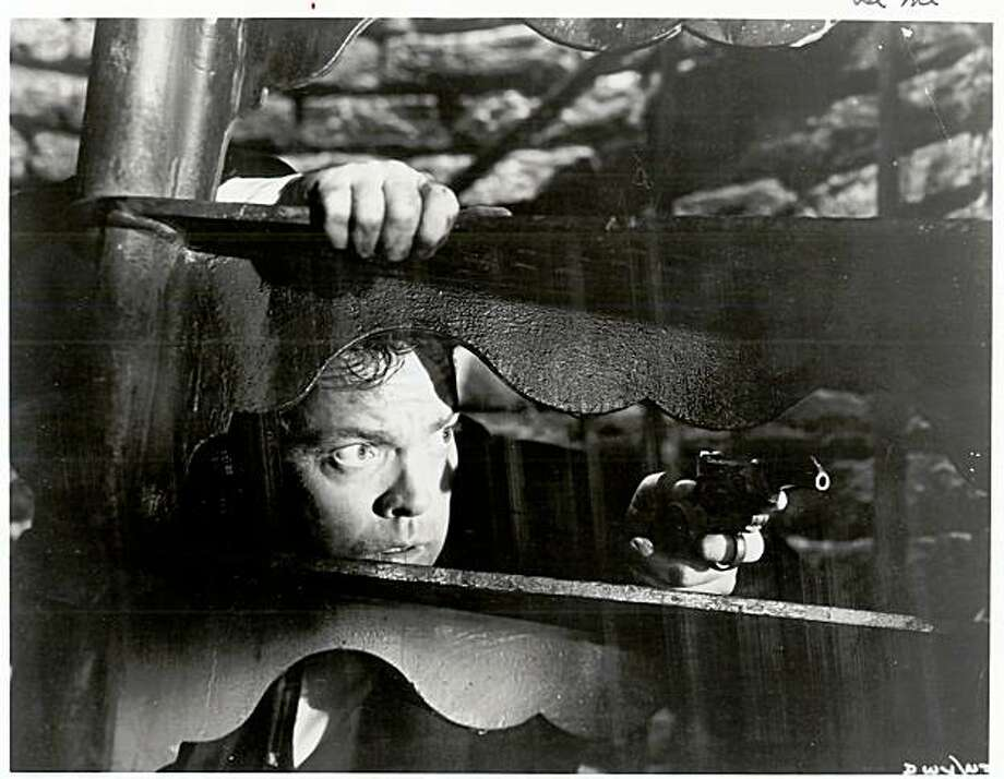 "Orson Welles is in ""The Third Man,"" part of the British noir series at the Castro Theatre. Photo: Handout"