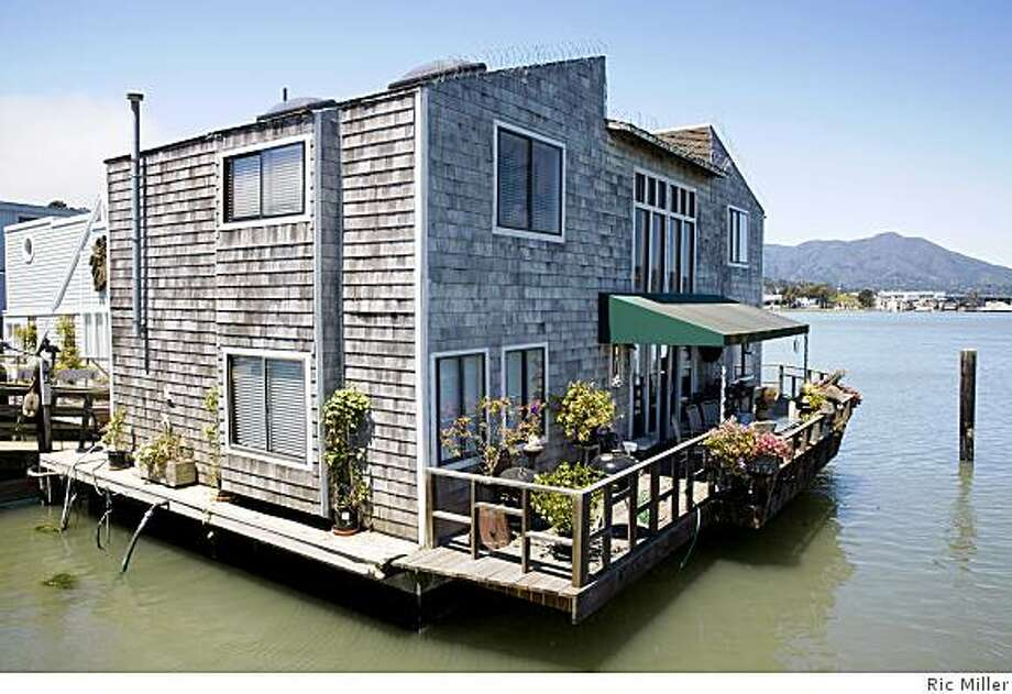 One of Sausalito's floating homes. Photo: Ric Miller