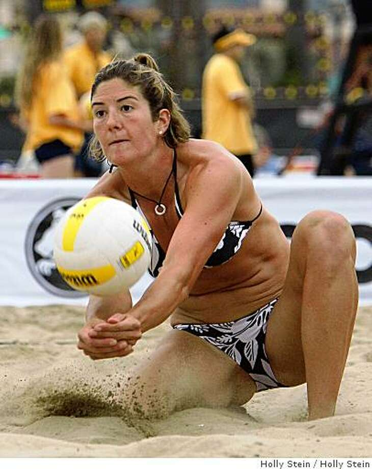 Nicole Branagh, pro beach volleyball player, 2007Courtesy of Holly SteinRan on: 09-13-2007Nicole Branagh is hoping she and partner Elaine Youngs can maintain their recent momentum.Ran on: 09-13-2007 Photo: Holly Stein