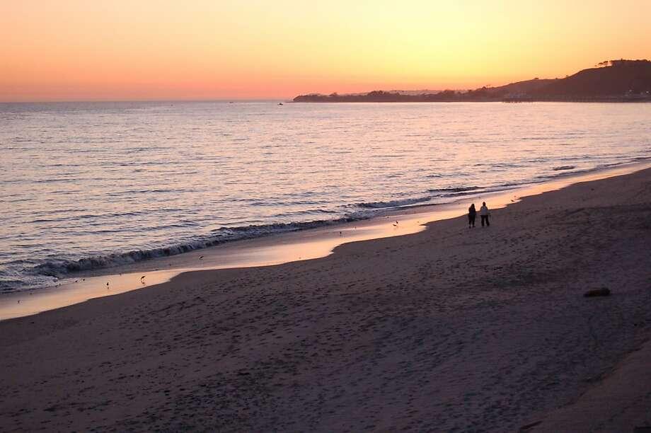 Carbon Beach, Malibu. Photo: Jeanne Cooper, The Chronicle
