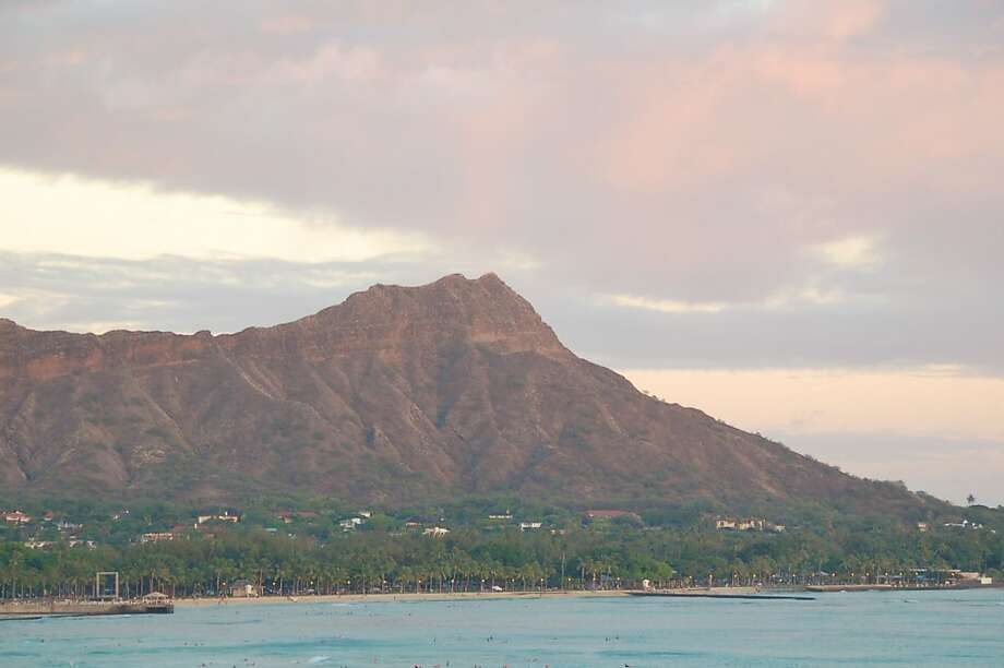 "While most people just enjoy the view of Diamond Head, known as Le'ahi in Hawaiian, the hike to the summit is a ""cheap must-do,"" says one Aloha Friday reader. Photo: Jeanne Cooper, Special To SFGate"