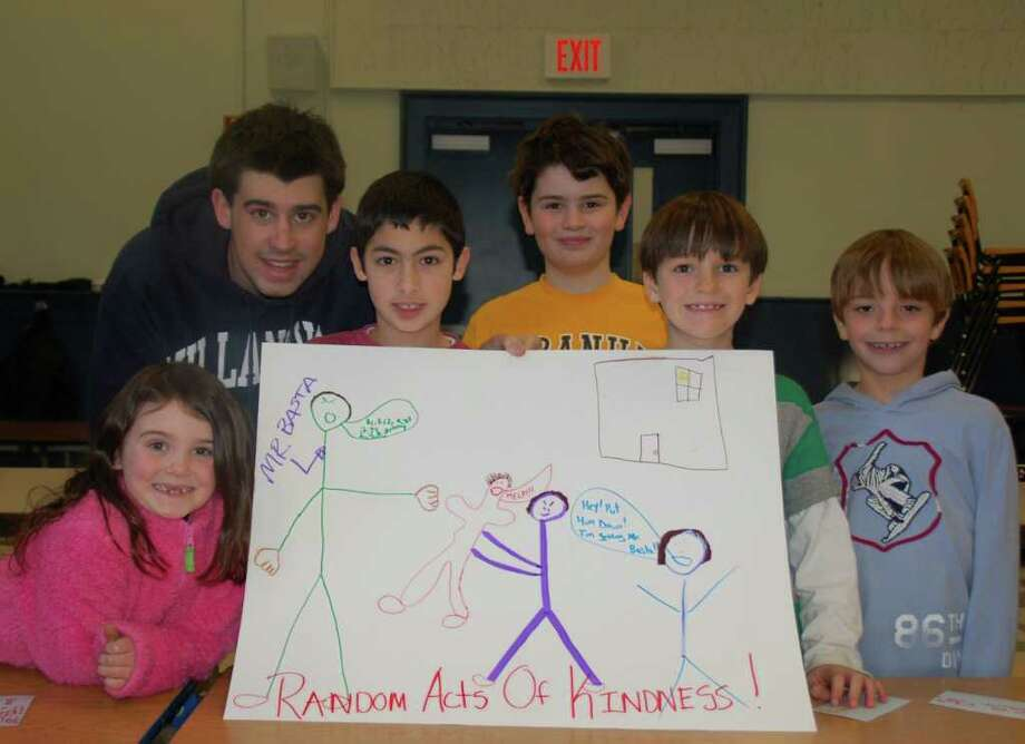 Pictured from left are Jillian Giordano, Jay Alter, Michael DiMeglio, Jack Gabriel, Brennan Moore and Ryan Genovese. Photo: Contributed Photo