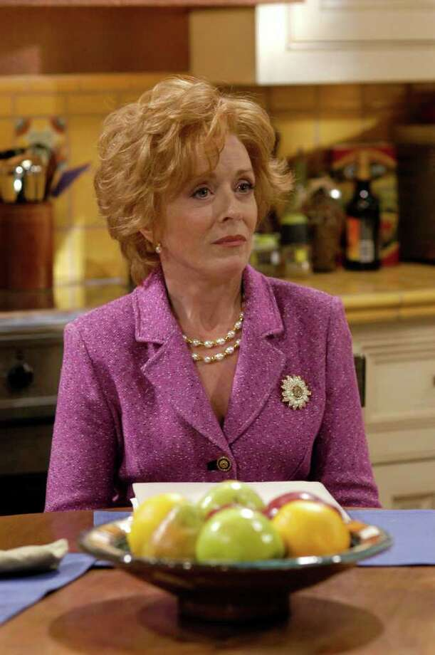 "Actress Holland Taylor appears in a scene from the CBS sitcom ""Two and a Half Men,"" in this undated promotional photo. (AP Photo/CBS, Gale Adler) Photo: GALE ADLER / CBS"