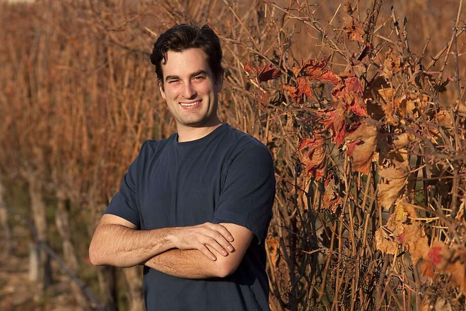 WINEMAKER TO WATCH PROFILE -- GAVIN CHANIN OF CHANIN WINES. After finishing high school, Gavin Chanin began working with Santa Barbara County winemakers at Au Bon Climat and Qupe where he is presently the assistant winemaker. In addition, he started his own wine company, Chanin Wines, making Pino Noir and Chardonnay from the Bien Nacido vineyard in Santa Maria, California. Chanin holds an art degree from UCLA and each of his wine labels features his original art work.  (Photo by Joe Gosen / Special to the Chronicle) Photo: Joe Gosen, Special To The Chronicle