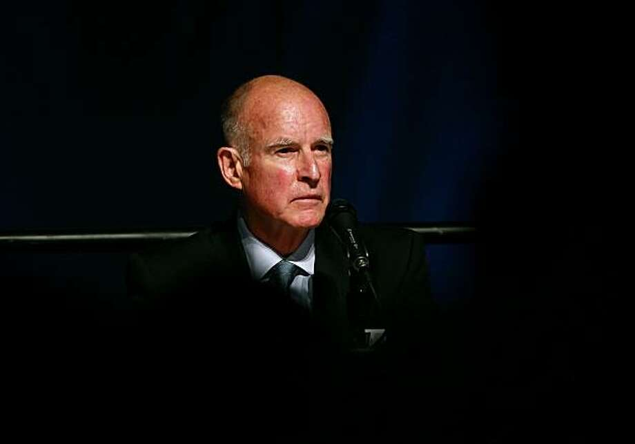 California governor-elect Jerry Brown Photo: Justin Sullivan, Getty Images