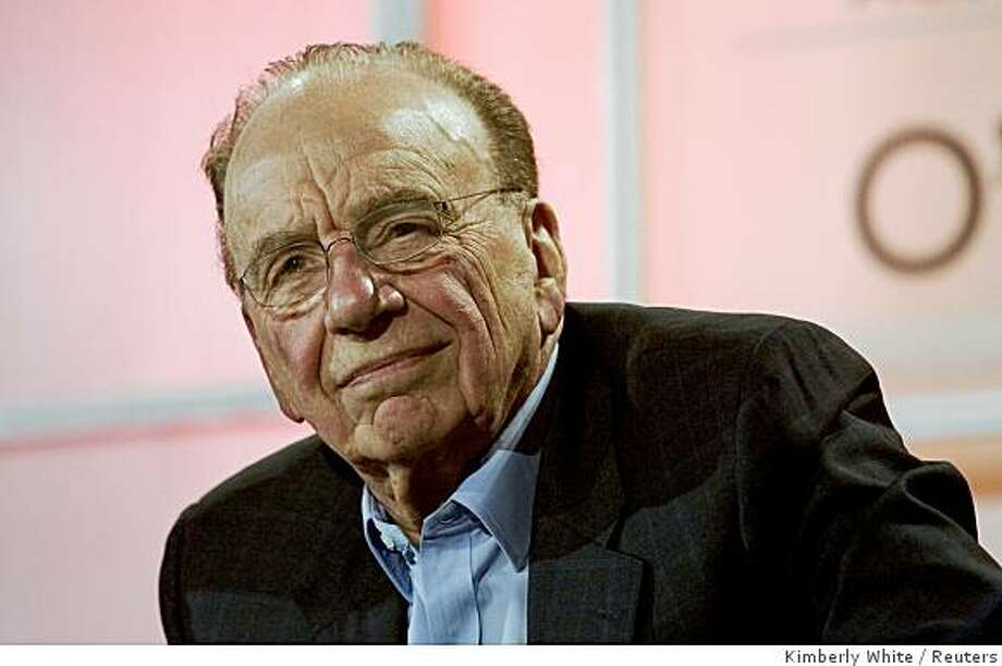 News Corp Chairman Rupert Murdoch speaks at the Web 2.0 summit in San Francisco, California, October 17, 2007. REUTERS/Kimberly White (UNITED STATES) Photo: Kimberly White, Reuters