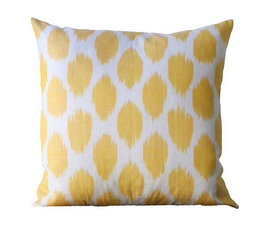 Ikat pillow from Be Still Photo: Be Still