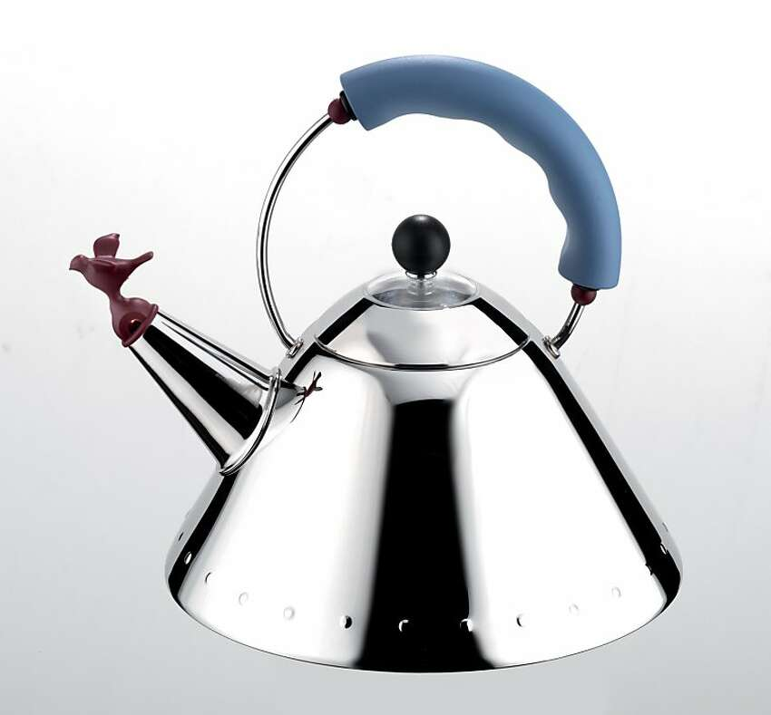 1980s Alessi Kettle by Michael Graves.