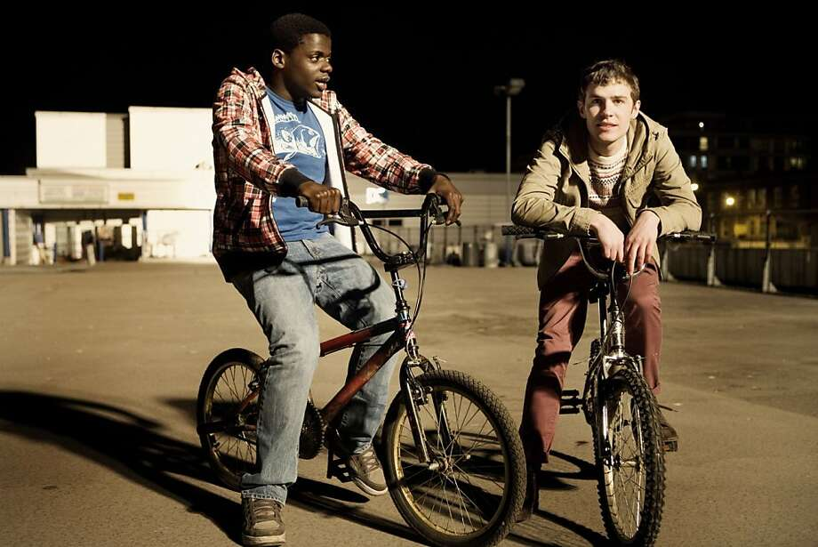 "Mac (DANIEL KALUUYA) and Paul (IAIN DE CAESTECKER) appear in a scene from BBC's, ""The Fades."" Photo: Dean Rogers, BBC"