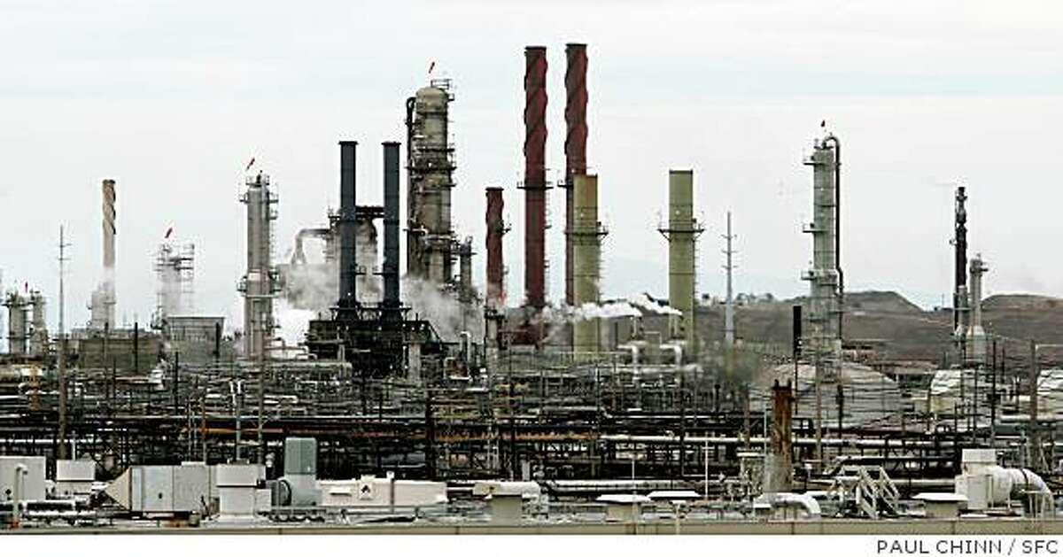The Chevron oil refinery in Richmond, Calif. on Thursday, Oct. 11, 2007.