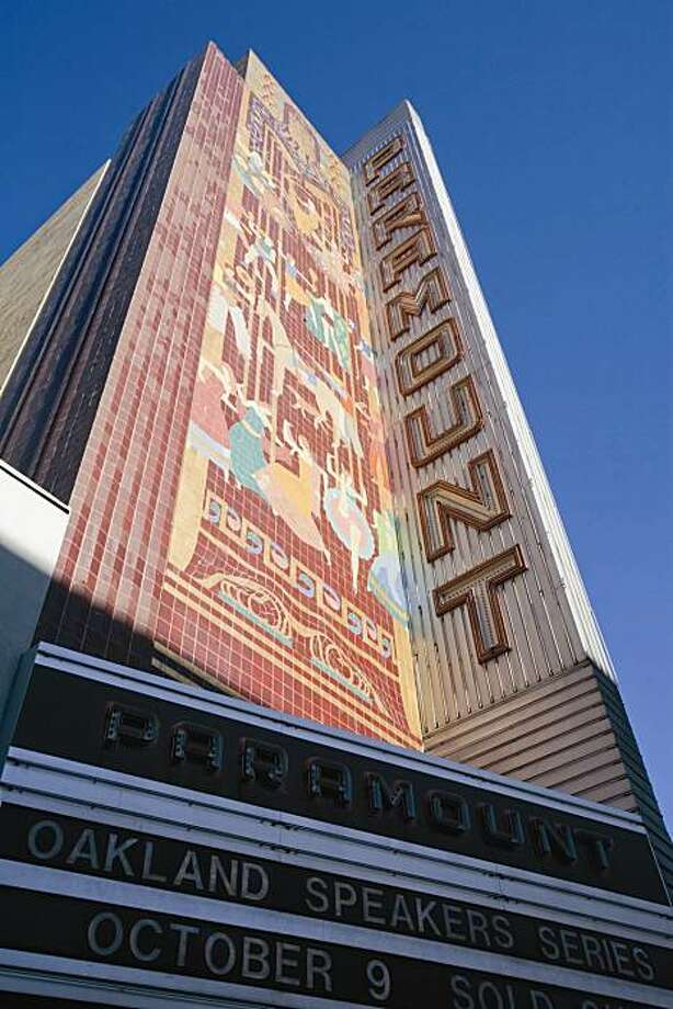 """Timothy Pflueger's Paramount Theatre remains a cherished Oakland Landmark more than 70 years after the 1931 opening. From the new monograph on Pflueger """"Art Deco San Francisco,"""" from Princeton Architectural Press. Photo: Tom Paiva, Art Deco San Francisco"""