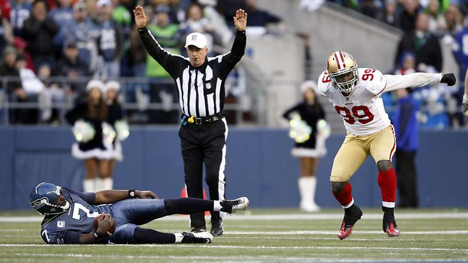 Aldon Smith Photo: Kevin Casey, Associated Press