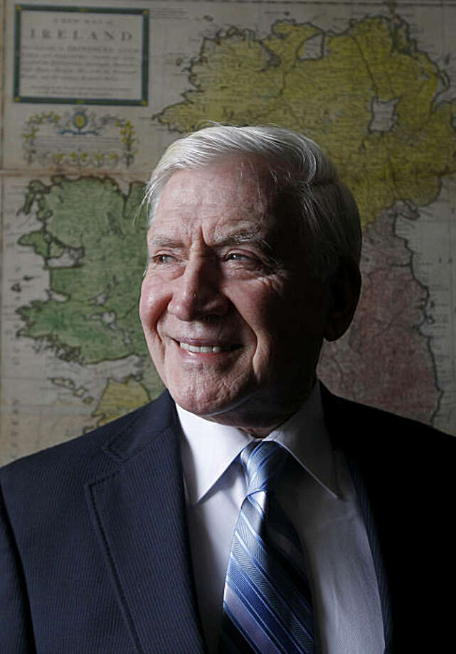 Dermott Philpott is seen at the Irish Cultural Center in San Francisco, Calif., on Tuesday, Dec. 21, 2010. Philpott, a former deputy chief with the SFPD, is part of the group known as Crossroads, which has launched an oral history project on the Irish community in the Bay Area. Photo: Paul Chinn, The Chronicle