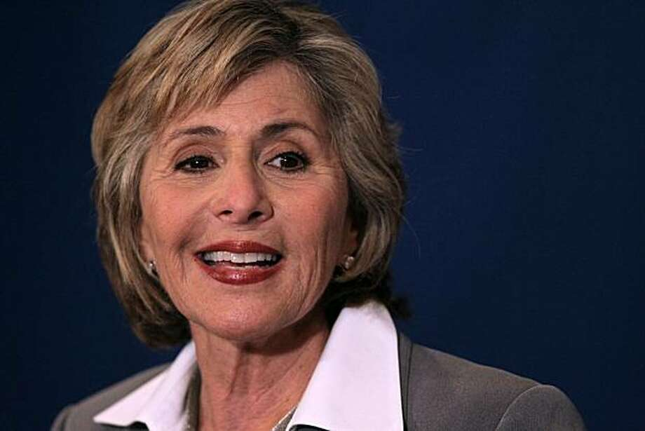 MORAGA, CA - SEPTEMBER 01:  U.S. Sen. Barbara Boxer (D-CA) smiles during a news conference after a debate with republican candidate for U.S. Senate Carly Fiorina on the campus of Saint Mary's College September 1, 2010 in Moraga, California. With less than two months before the election, U.S. Sen. Barbara Boxer (D-CA) and, republican candidate Carly Fiorina faced off in their first debate.  (Photo by Justin Sullivan/Getty Images) Photo: Justin Sullivan, Getty Images