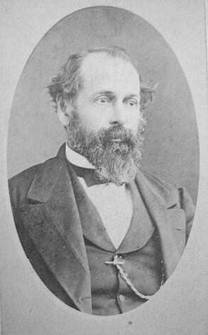 "Francis Kittredge Shattuck, for whom Shattuck Avenue was named, owned the property we know of as downtown Berkeley. When it was undeveloped, he and his partner convinced the Central Pacific Railroad to extend their Oakland tracks up Adeline, and connecting with his Shattuck Avenue properties in 1876, making it a prime area for development when the train made it accessible. From the book ""Eccentrics, Heroes, and Cutthroats"" by Richard Schwartz. Photo: Courtesy Richard Schwartz"