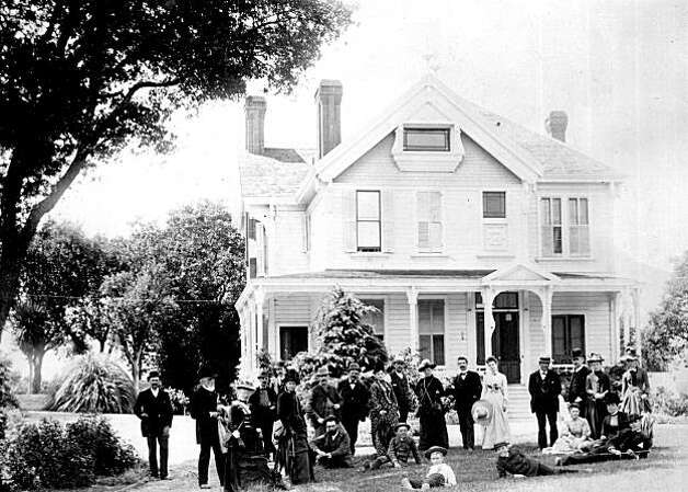 "A party at the Wagner House in 1890. Theodore Wagner was the Surveyor General of the United States. He purchased land in what is now Orinda and maintained some of the best orchards in the State. Wagner hosted big parties, complete with cooks, ice cream and fireworks. One could see mountain lions in the background at night, sounding like children crying. His house site is now on the property of the Orinda School District. From the book ""Eccentrics, Heroes, and Cutthroats"" by Richard Schwartz. Photo: Courtesy Richard Schwartz"