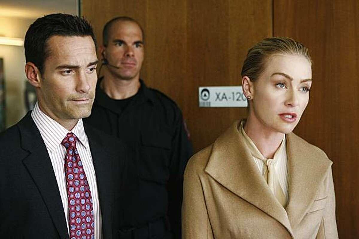Portia de Rossi played Veronica Palmer on ABC's