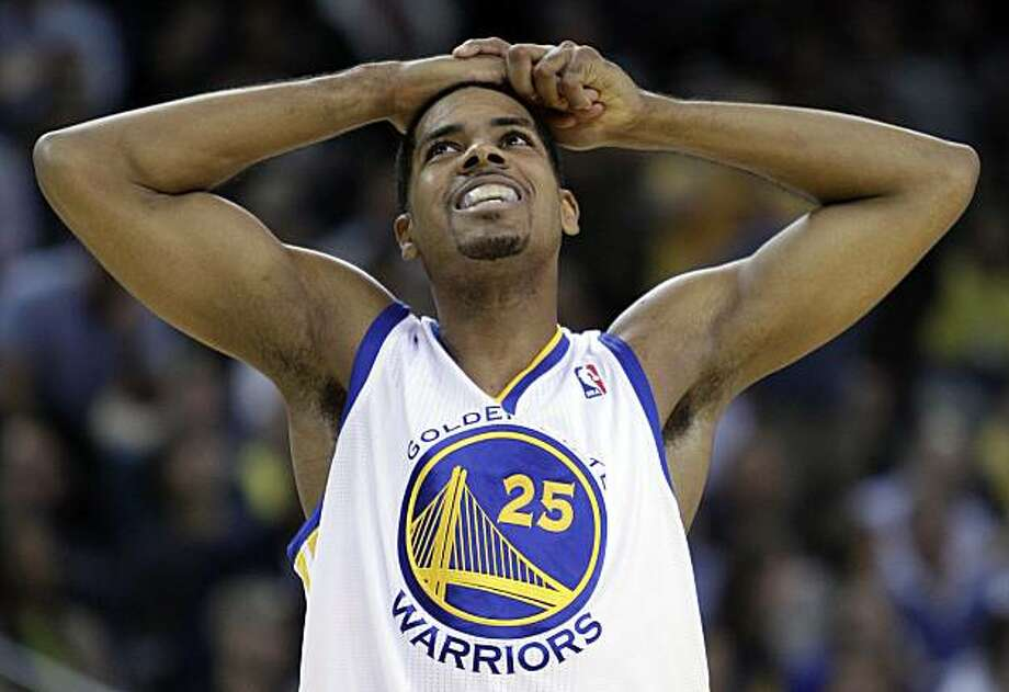 Golden State Warriors' Rodney Carney reacts during the second half of an NBA basketball game against the Phoenix Suns Thursday, Dec. 2, 2010, in Oakland, Calif. Photo: Ben Margot, AP