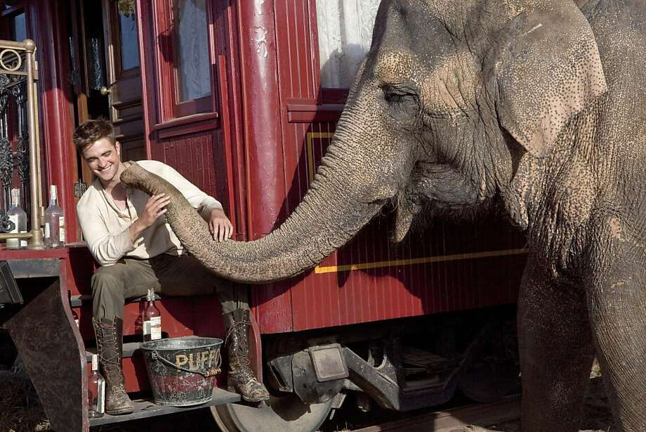 "Robert Pattinson in ""Water for Elephants."" Photo: 20th Century Fox"