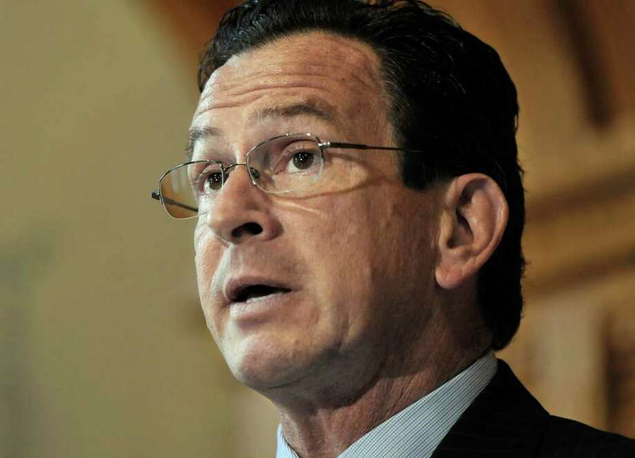 Gov. Dannel P. Malloy is shown at the State Capitol in Hartford in this 2011 file photo. (AP Photo/Jessica Hill) Photo: Contributed AP Photo/Jessica Hil, Contributed Photo / The News-Times Contributed