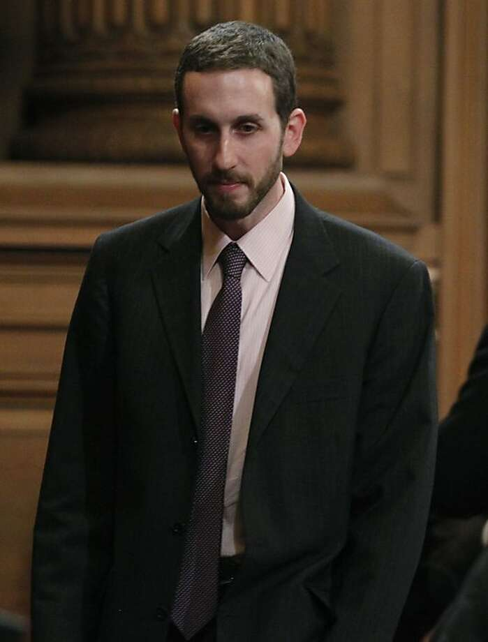Supervisor Scott Wiener attends a Board of Supervisors meeting at City Hall in San Francisco, Calif., on Saturday, Jan. 8, 2011. Photo: Paul Chinn, The Chronicle