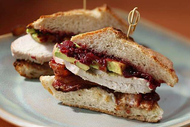 Best Way brined turkey breast sandwiches as seen in San Francisco, Calif., on November 3, 2010. Food styled by Sophie Brickman. Photo: Craig Lee, Special To The Chronicle