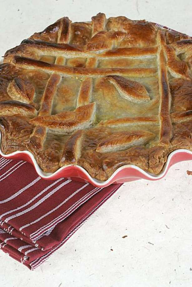 Potpie with Rosemary Roux Photo: Penni Gladstone, Must Credit