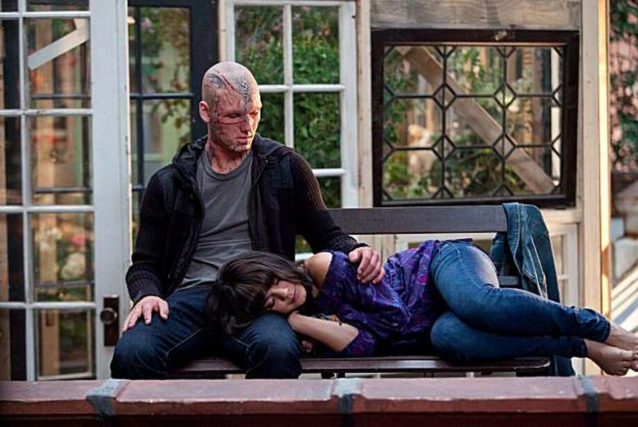 "In this film publicity image released by CBS Films, Alex Pettyfer, left, and Vanessa Hudgens are shown in a scene from ""Beastly."" Photo: Takashi Seida, AP"
