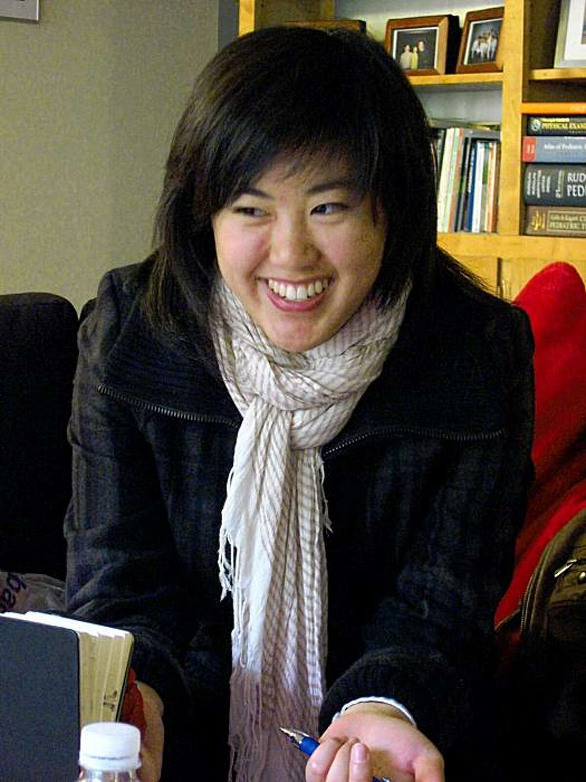 Serena Wu, co-founder of MyMomIsAFob.com and MyDadIsAFob.com, sites that celebrate the offbeat sayings and doings of Asian immigrant parents everywhere.