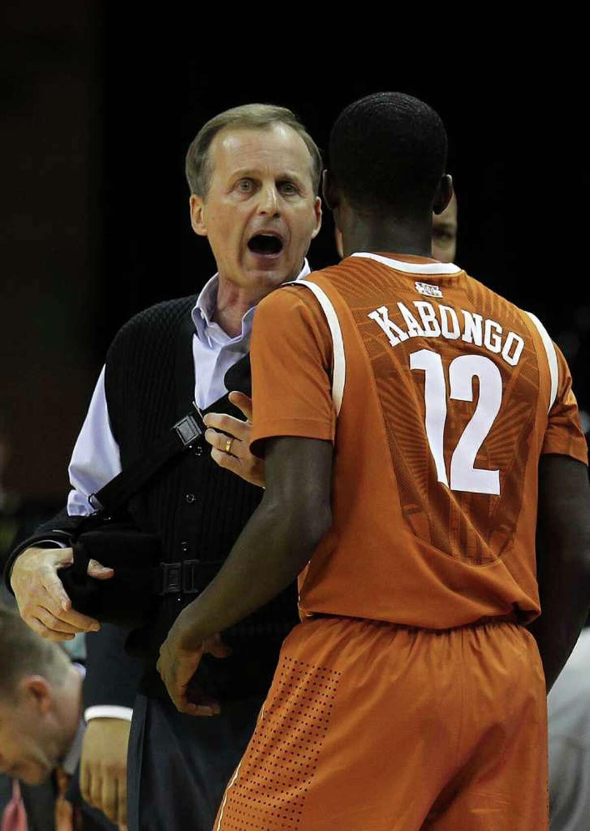 Salary : $2,400,000 Title: University of Texas head men's basketball coach Current as of February 2012. Source:Texas Tribune