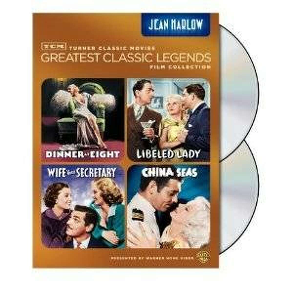 dvd cover: JEAN HARLOW: GREATEST CLASSIC LEGENDS FILM COLLECTION