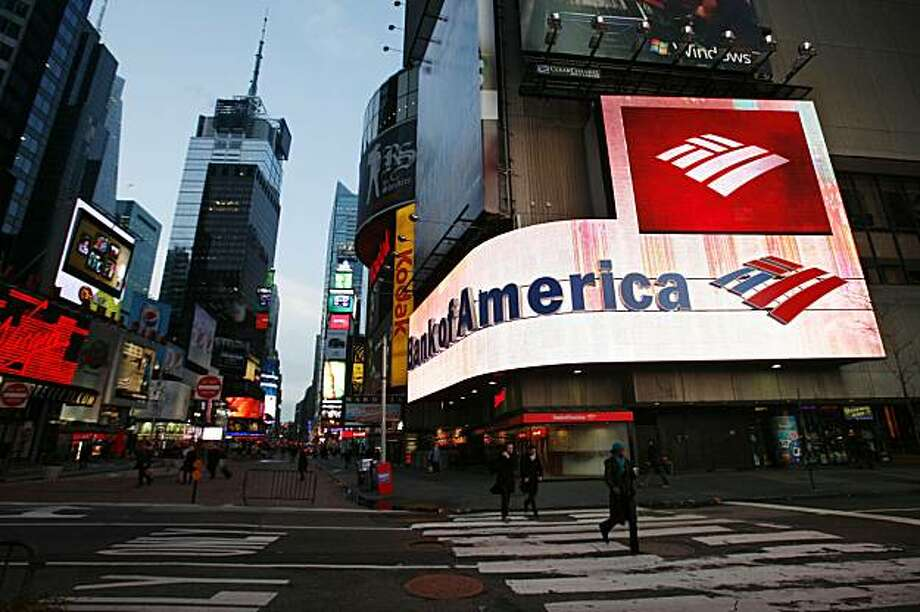 FILE - In this Jan. 19, 2010, file photo, a branch office of Bank of America is shown in New York. Bank of America is taking a major step to help some of its most troubled mortgage borrowers. The bank said Wednesday, March 24, 2010, it will forgive up to30 percent of some customers' loan principal. Photo: Mark Lennihan, AP